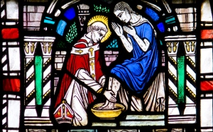 Washing Disciples Feet Image